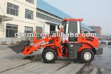 small wheel loader mini bobcat with CE qingzhou SZM zl-12 912 with hydraulic joystick pilot
