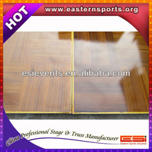 ESI Dance Floor Teak Wood And Teak Wood Parquet Dance Flooring And Reclaimed Teak Wood Flooring With Aluminum Edge 13032907
