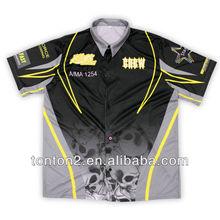 sublimation made custom motorcycle racing uniform fashion