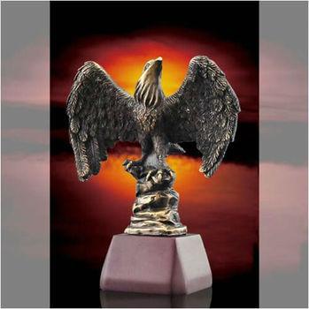 metal Eagle sculpture