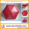"19""x6k manual open pencil umbrella bottle with your design"