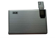 promotional gift metal visa card usb
