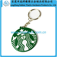 promotional silicone customized tennis ball keychain