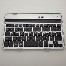 Factory Price Aluminum Bluetooth Keyboard for Google Nexus 7,Wireless Aluminum Keyboard for Google Nexus 7 Black