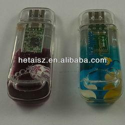 innovative design water filled usb 16gb flash drive