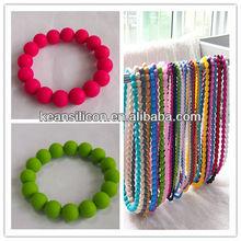 Baby Pearl teething beads/Teething Beads/Chew Beads/Silicone Teething Jewelry Munafacturer