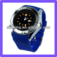 Hand Watch Mobile Phone With Many Colors Selection Silicone Band