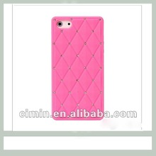 Diamond bling phone case for iphone 5 cell phone silicone case Amazing experience!!!