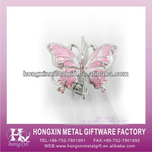 HX-1224 2013 New Product Cute Pink Butterfly Mini Keyfinder Thing