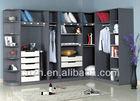 Wooden Bedroom Cupboard Corner Wardrobe