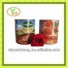 conserve di pomodoro 560g