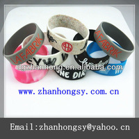 100 kinds of style silicone spike bracelets