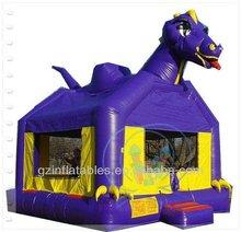 Inflatable jumping bouncer animal moonwalk bouncer