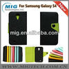 New Arraval for samsung Galaxy S4 leather case, for samsung S4