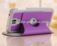 Hot sale stand leather case for samsung galaxy s4 i9500