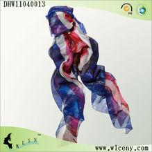 drapeau de soie foulard pour dame de la mode