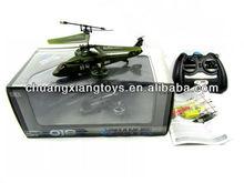 4ch infravermelhos rc fácil controle de warcraft apache helicóptero