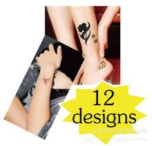 Crystal body jewel tattoo stickers 2013 new