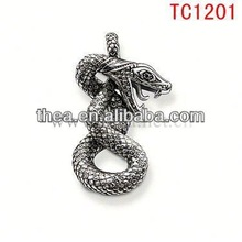 TC1201 2013 Men's cool snake garment accessories high quality cheap price pendant