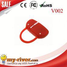 Custom lovely bag shape USB Flash Drive bag usb flash / usb flash drive / bag usb flash d