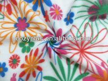 2013 shaoxing top 10 Fleece Blanket 100% Polyester Fabric for hooded velour bathrobe