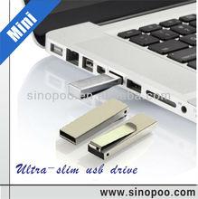 Metal mini book Clip usb flash drive