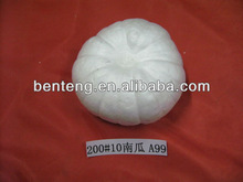 white foam decorative ceramic halloween pumpkin