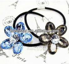 Korean fashion resin rhinestone hair bands,hair accessories