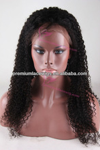 long mongolian afro tight kinky curly lace front wig