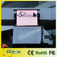 P10 outdoor full color mobile led signs