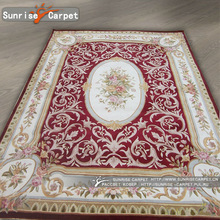 Traditional Hand woven wool Synthetic carpet rugs