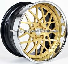 BBS Gold replica Car alloy rims 5x112 18*9.5
