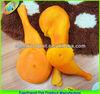 plastic pet food toy of chicken leg
