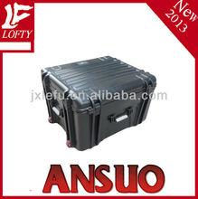 Hard platsic cheap equipment draw- bar tool case