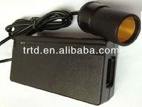 100-240V AC To DC Car Cigarrete Lighter Adapter 12V6A