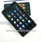 5 inch oem 3G android 4.1 capcitivel multi touching mobile smart phone