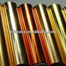 stampa a caldo in oro per carta di plastica tessili usati