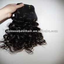Intact Cuticle 14inches Natural Color Loose Wave Malaysian Candy Hair Weave