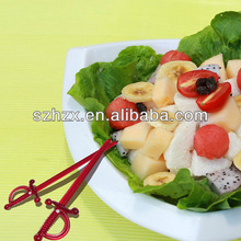 food grade plastic fruit party pick