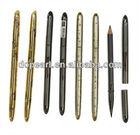 Cosmetic pencil waterproof permanent eyebrow pencils