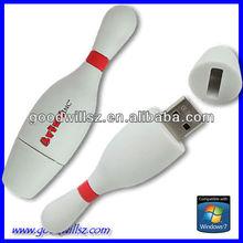 Huge-Discount Bowling Pin USB 2.0 with Custom Logo