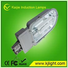 half spiral hot sale tri color base e27/b22 daylight induction street lamp energy saving light led light