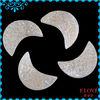 Natural Agate Druzy Cabochon Moon Shape Wholesale D040109