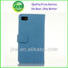 2013 New Design For Blackberry Z10 Leather Case & Screen Film
