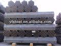 Astm A53 A106 negro tubería de acero al carbono con hoja de pvc de plástico