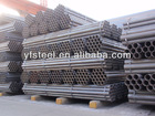 API 5L ASTM A53 A106 Black carbon steel pipe with plastic pvc sheet