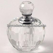 angle crystal perfume bottles