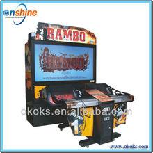 simulator game machine- Rambo shooting