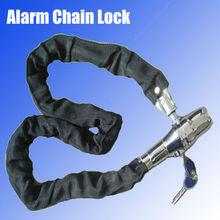 New Alarm motorcycle chain lock