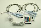 Multi-Color 131mm 42smd(5050) RGB LED Angel Eyes Halo Rings Kit For E36 E46 3 Series E39 5 Series E38 7 Series